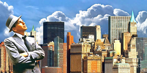 Photograph - Frank Sinatra New York New York 20170507 by Wingsdomain Art and Photography