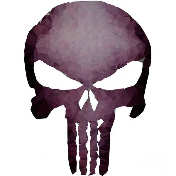 Digital Art - Frank Skull by Helge