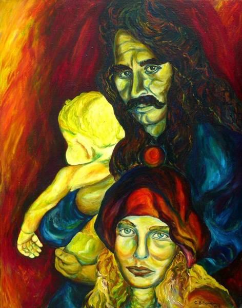 Frank Zappa Painting - Frank Zappa   by Carole Spandau
