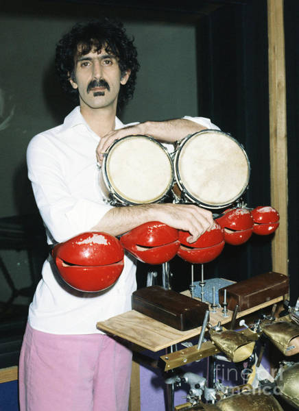 Chris Walter Wall Art - Photograph - Frank Zappa 1982 by Chris Walter