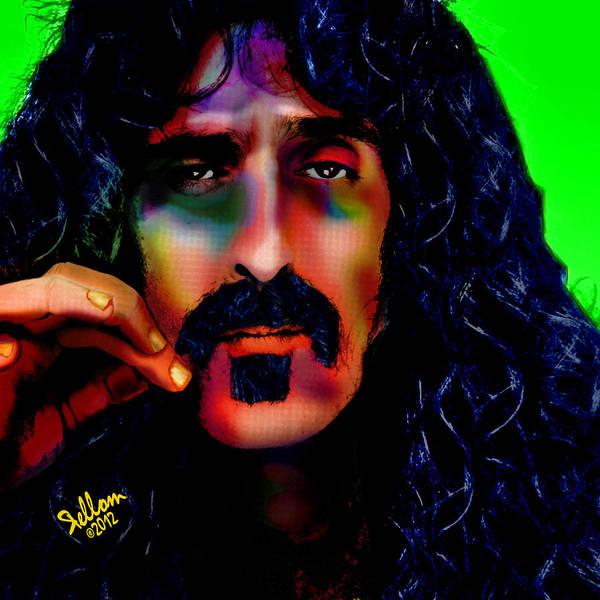 Frank Zappa Wall Art - Digital Art - Frank Zappa by Che Rellom