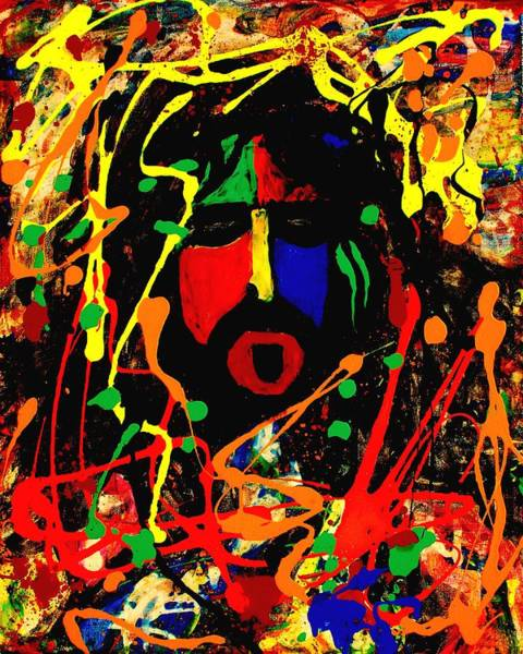 Frank Zappa Painting - Frank Zappa by Gayland Morris