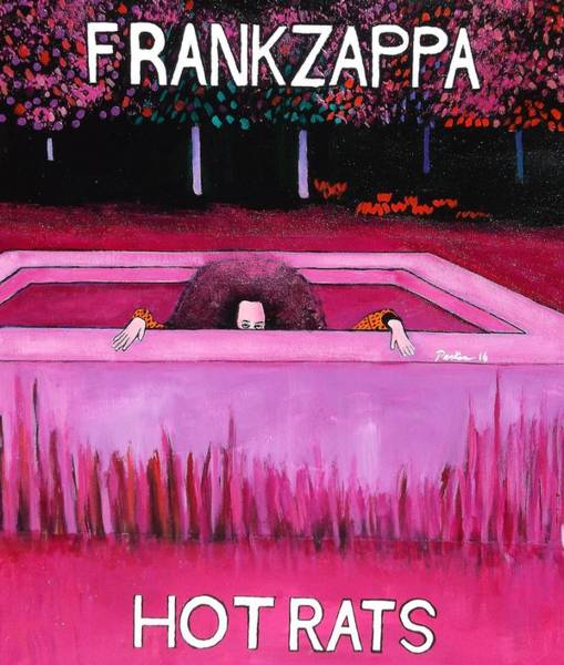 Frank Zappa Painting - Frank Zappa Hot Rats by Don Parker