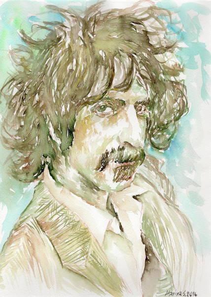 Frank Zappa Painting - Frank Zappa by Marina Sotiriou
