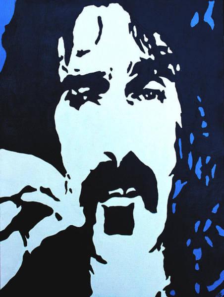 Frank Zappa Painting - Frank Zappa by Murray Stiller