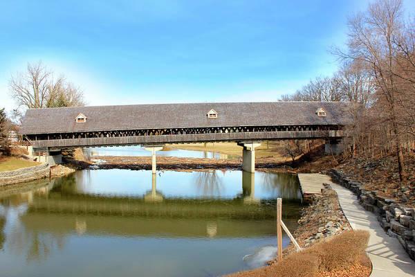 Bridge Mixed Media - Frankenmuth Covered Bridge by Design Turnpike