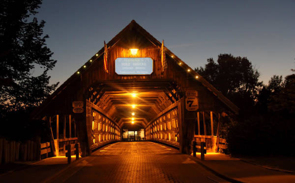 Frankenmuth Photograph - Frankenmuth Covered Bridge by Pat Cook