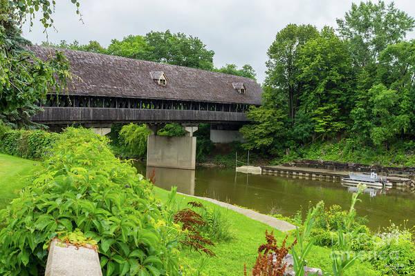 Frankenmuth Photograph - Frankenmuths Covered Bridge by Jennifer White