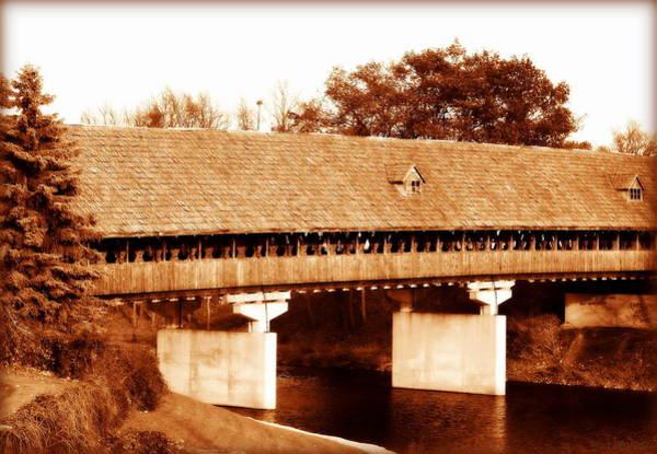 Frankenmuth Photograph - Frankenmuth's Covered Bridge by Rachel Narvaez