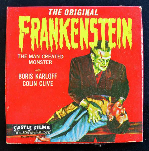 Wall Art - Photograph - Frankenstein 1931 8mm by David Lee Thompson