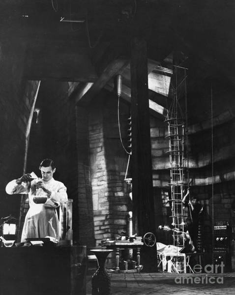 Photograph - Frankenstein, 1931 by Granger