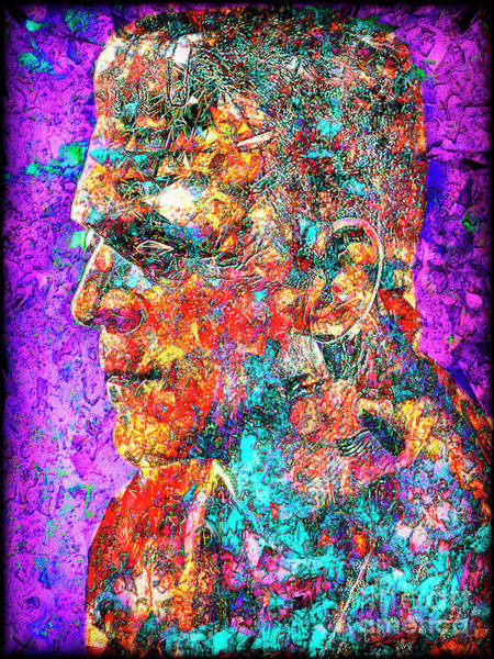Photograph - Frankenstein I Have Love In Me The Likes Of Which You Can Scarcely Imagine 20170406 by Wingsdomain Art and Photography