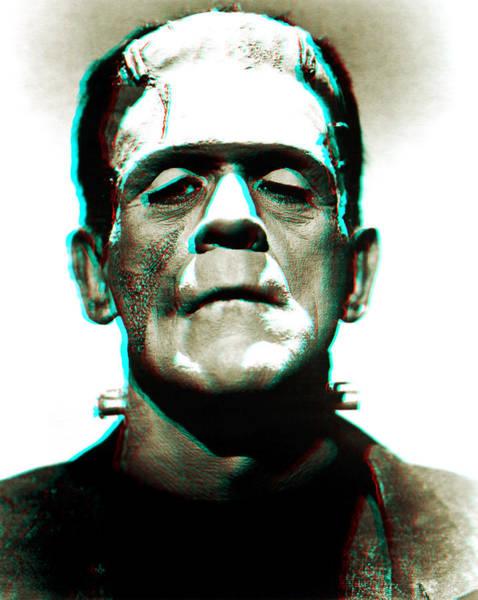 Wall Art - Digital Art - Frankensteins Monster Karloff by Joy McKenzie
