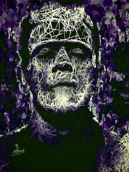Mixed Media - Frankenstein by Al Matra