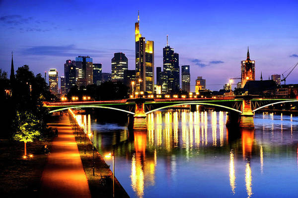 Photograph - Frankfurt Am Main by Fabrizio Troiani