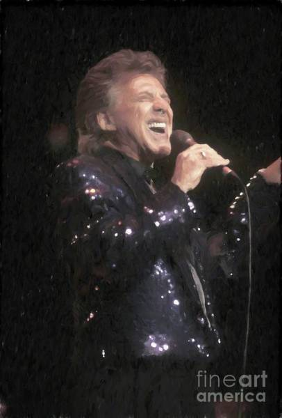 Frontman Wall Art - Painting - Frankie Valli Painting by Concert Photos