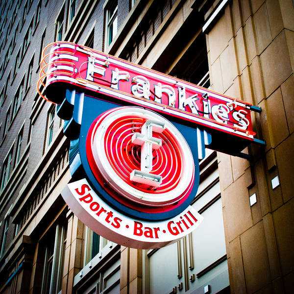 Fort Worth Photograph - Frankie's Sports Bar And Grill by David Waldo