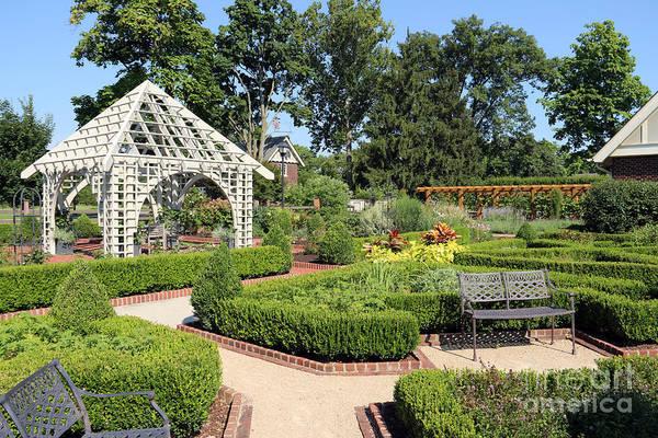 Franklin Park Photograph - Franklin Park Conservatory Botanical Gardens 7395 by Jack Schultz