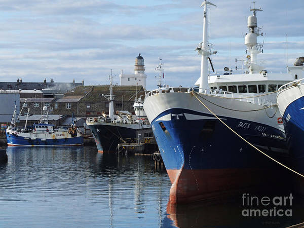 Photograph - Fraserburgh Harbour by Phil Banks