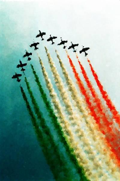 Fx Photograph - Frecce Tricolori by Andrea Barbieri