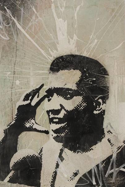 Streetart Mixed Media - Fred Hampton by Dustin Spagnola