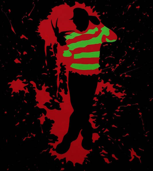 Freddy Krueger Painting - Fred In The Red by Ian  King