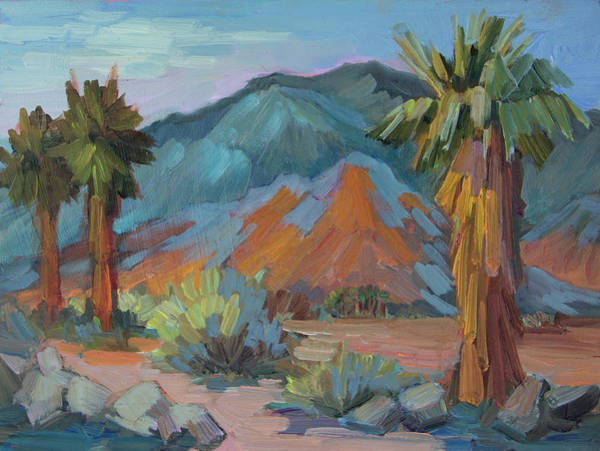 La Quinta Wall Art - Painting - Fred Wolff's Palm by Diane McClary