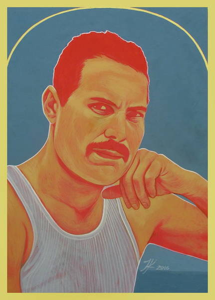 Painting - Freddie Mercury by Jovana Kolic