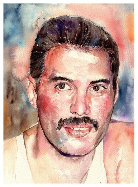 Wall Art - Painting - Freddie Smiling by Suzann Sines