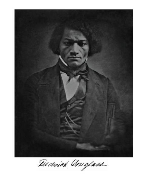 Photograph - Frederick Douglas by John Feiser