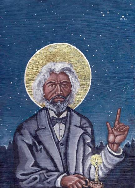 Painting - Frederick Douglass by Kelly Latimore