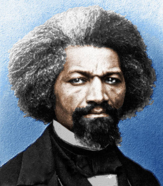 Wall Art - Painting - Frederick Douglass Painting In Color  by Tony Rubino