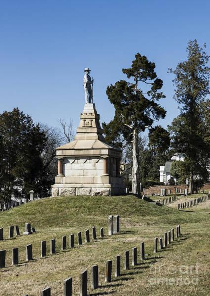 Wall Art - Photograph - Fredericksburg Confederate Cemetery by John Greim