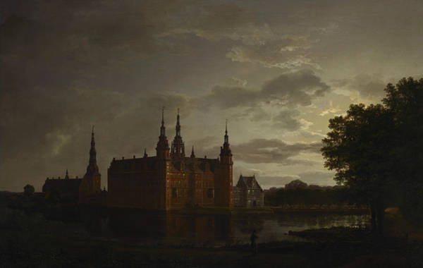 Painting - Frederiksborg Castle by Johan Christian Dahl