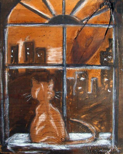 Pastel - Fredrick's Window by Katt Yanda