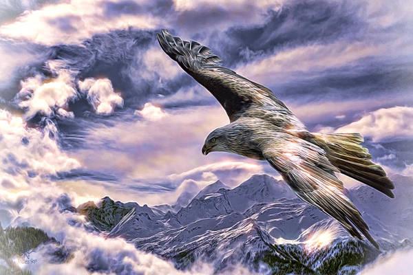 Digital Art - Free As A Bird by Pennie McCracken