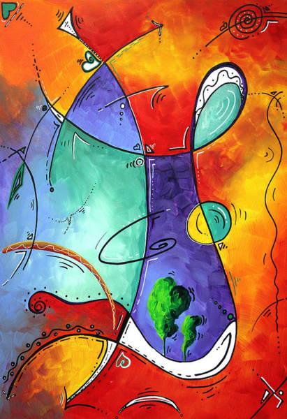 Wall Art - Painting - Free At Last Original Art By Madart by Megan Duncanson