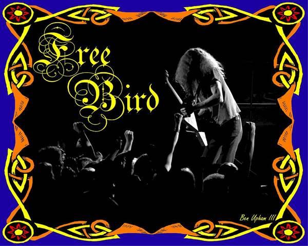 Photograph - Free Bird #2 by Ben Upham