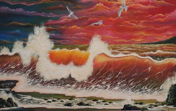 Painting - Free by Owen Lafon
