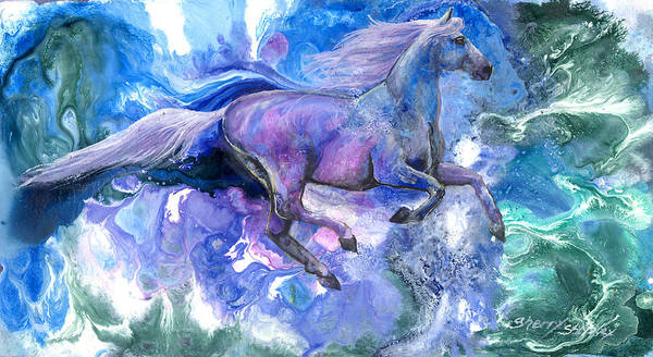 Painting - Free Spirit by Sherry Shipley
