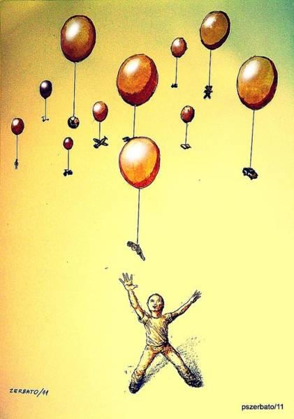 Subjective Digital Art - Free Will by Paulo Zerbato