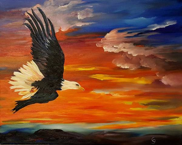 Painting - Freedom        108 by Cheryl Nancy Ann Gordon