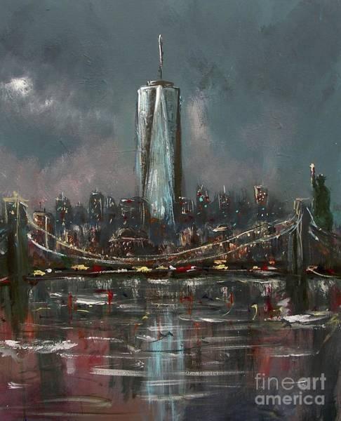 Painting - Freedom by Miroslaw  Chelchowski