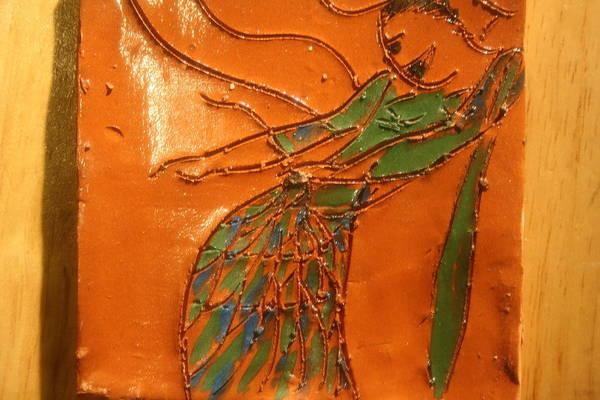Ceramic Art - Freedom Of Dance - Tiled by Gloria Ssali