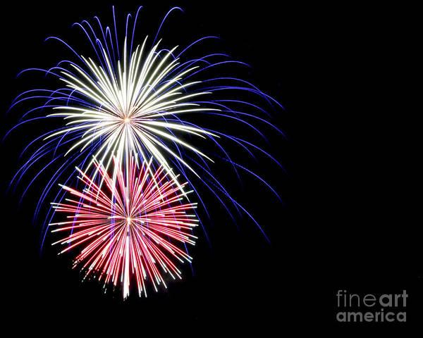 Fireworks Show Wall Art - Photograph - Let Freedom Ring by Jennifer Ramirez