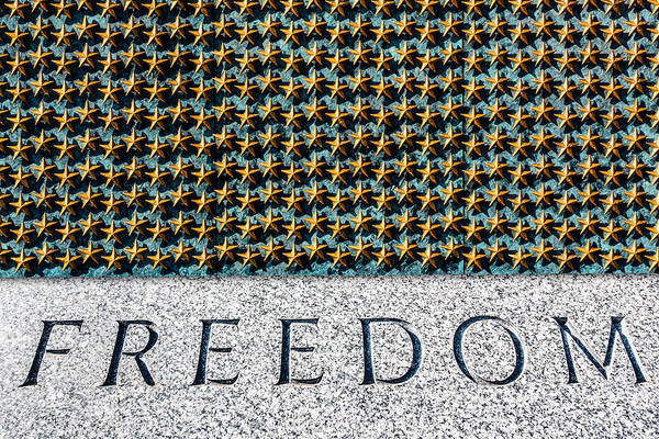Photograph - Freedom by SR Green