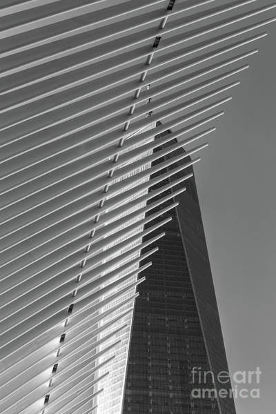 Photograph - Freedom Tower And Oculus Iv by Clarence Holmes