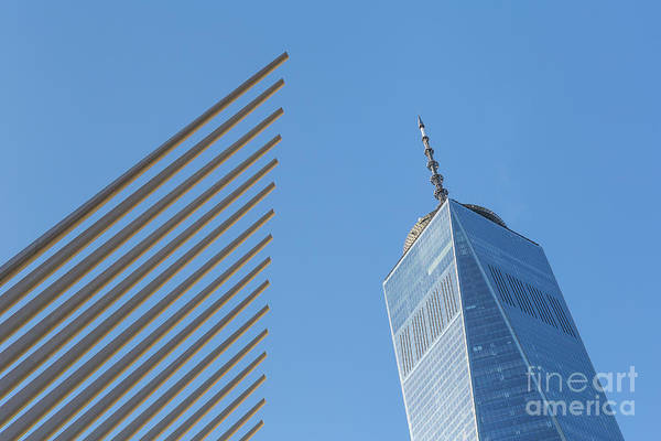 Photograph - Freedom Tower And Oculus V by Clarence Holmes