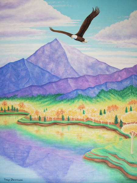 Painting - Freedom  by Tracy Dennison