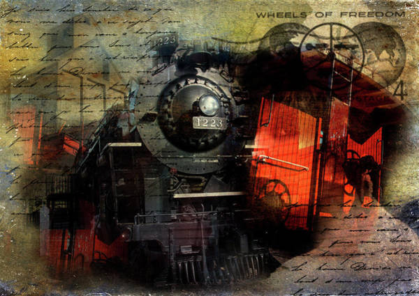 Photograph - Freedom Train by Evie Carrier